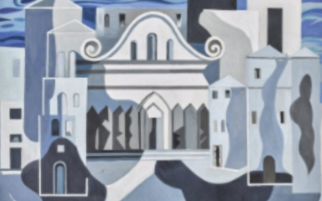 Set Design with Classical Architecture